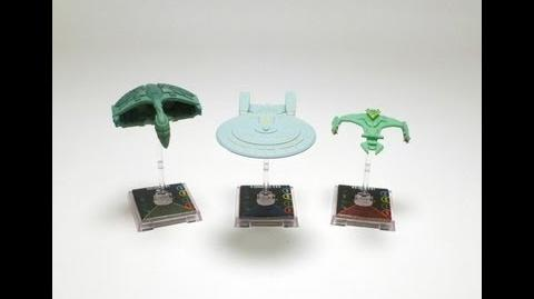 "Game On - Star Trek Attack Wing ""D'Dedrix Class"" Ship-1385094293"