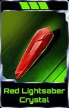 Red Lightsaber Crystal
