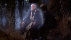 Obi wans ghost and luke