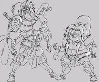 Animatic Killgar and Hogstrong 2