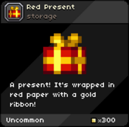 Red Present tooltip