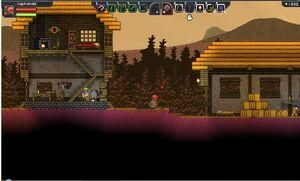 Glitch village