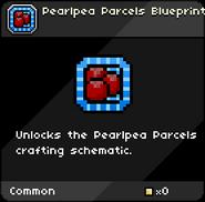 Pearlpea Parcels Blueprint infobox