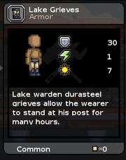 Lake grieves