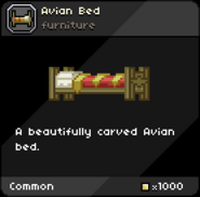 Avian Bed (carved) infobox