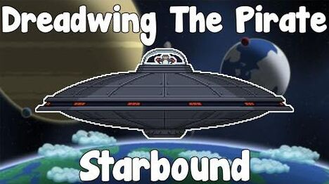 Dreadwing The Piratewing - Starbound Nightly Build