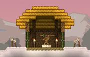 Floran hut