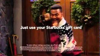 Carlton dances on Starbucks Commercial