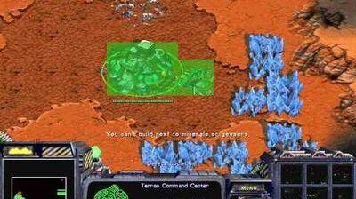 Starcraft Brood War - Terran Campaign Mission 5b- Emperor's Fall Birds of War Walkthough Lets Play
