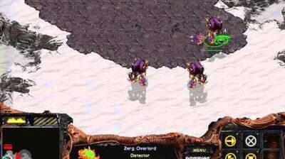 Starcraft Brood War - Zerg Campaign Mission 2 - Reign of Fire Walkthough Lets Play