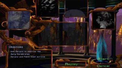 Starcraft - Protoss Mission 9 Shadow Hunters