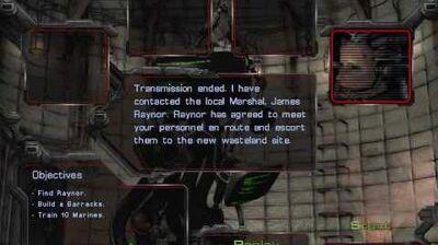 Starcraft - Terran Mission 1 Wasteland