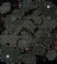 Worldship SC2 Map1