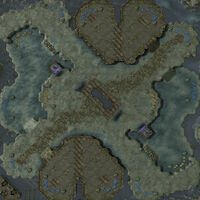 DesolateStronghold SC2 Map1