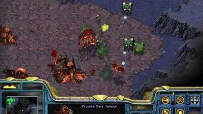 Starcraft Brood War - Protoss Campaign Mission 2 - Dunes of Shakuras Walkthough Lets Play