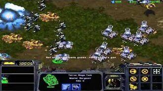 StarCraft Brood War Campaign Enslavers -- Episode I 3A. Assault on Aiur (Zerg Option)
