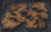 BlisteringSands SC2 Map1