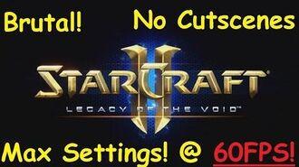 Starcraft 2 - THE ESSENCE OF ETERNITY - Brutal (Achievements) LOTV 2 (EPILOGUE)