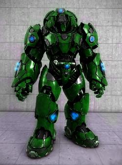 TFP Powered Heavy Combat Armor