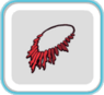 RedSpikeNecklace