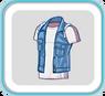 JeanSleevelessJacket