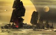 Desert moons ruins