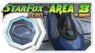 Star Fox Zero - Area 3 To Zoness! Wii U Gameplay Walkthough With GamePad 1