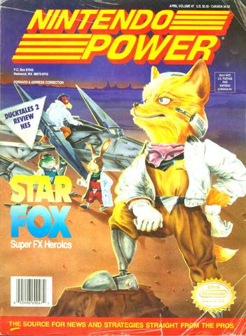File:Star Fox Nintendo Power.png