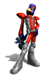 Brawl Sticker Falco (Star Fox Assault)