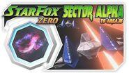 Star Fox Zero - Sector Alpha To Area 3! Wii U Gameplay Walkthough With GamePad 1