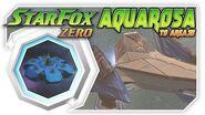 Star Fox Zero - Aquarosa To Area 3! Wii U Gameplay Walkthough With GamePad