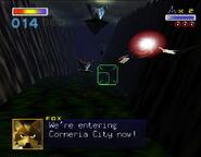 SF64 Corneria City Dragon Fighters