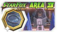 Star Fox Zero - Area 3 To Zoness! Wii U Gameplay Walkthough With GamePad 2