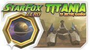 Star Fox Zero - Titania To Sector Gamma! Wii U Gameplay Walkthough With GamePad 2