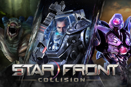 Starfront Title Screen