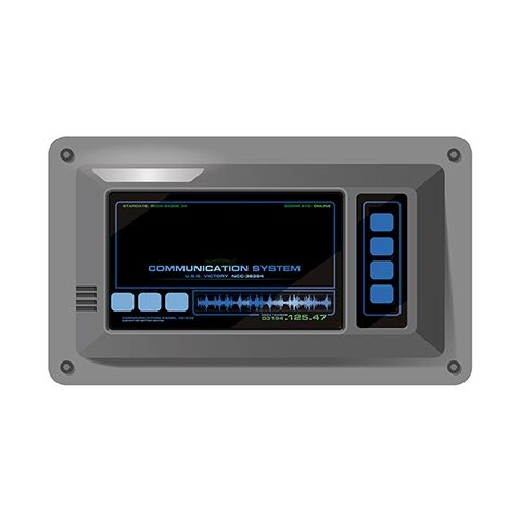 Touch-screen intercom