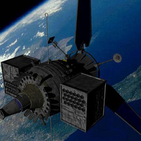 Orbital defense sattelite
