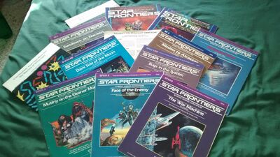 Star Frontiers adventure modules 01 by Sings-With-Spirits