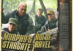 Stargate SG-1 Murphy's Law of Stargate Travel