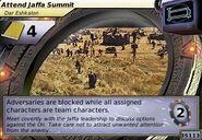 Attend Jaffa Summit