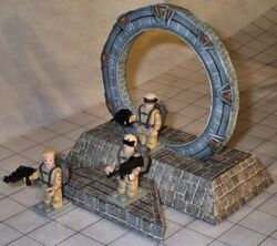 Stargate (paper model by Sean Lambert) preview
