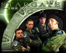 Stargate SG-2 Team Photo