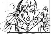 Lady Kale Dark Stone sketch