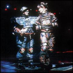 Steven Michael Skeels as Rusty in Bochum, 1988