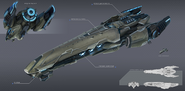 Vakr Ship Battlecruiser