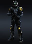 Legkiy Planetary Militia Trooper