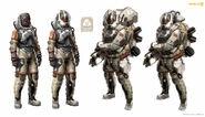 Krogir Federation Spacemen