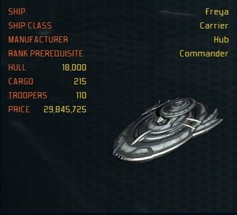 Freya ship