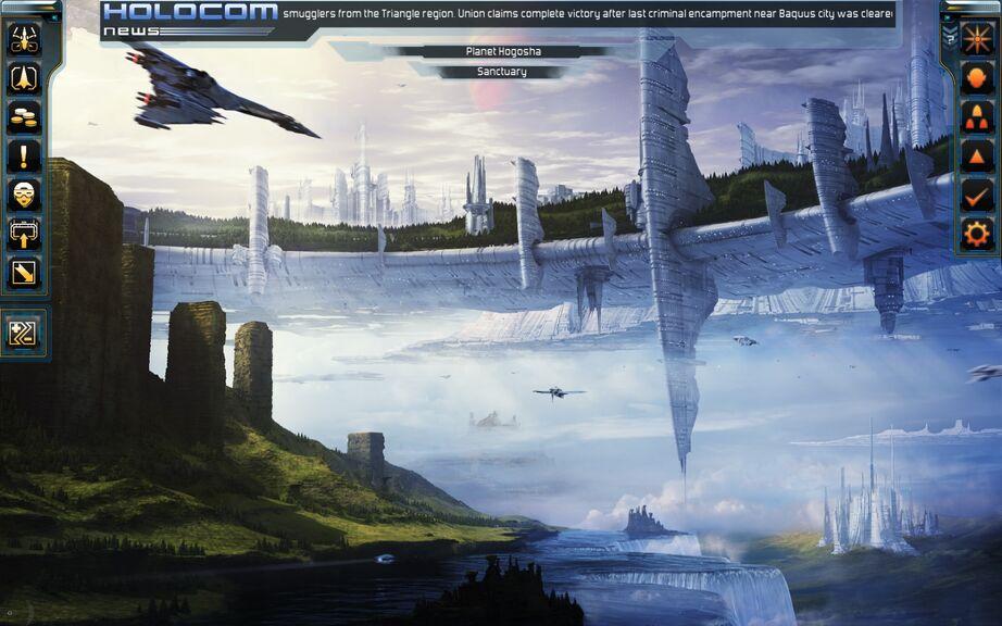 Planet Hogosha Landed