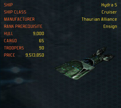 HydraS ship